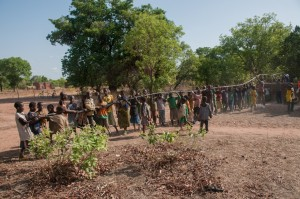The Water Project : burkinafaso9055-17-pulling-the-trest-pump