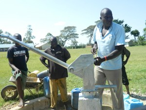 The Water Project : kenya4213-21-inaya-primary-school-pump-installation-4