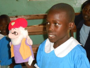 The Water Project : kenya4222-24-introduction-of-the-pupils-and-teachers