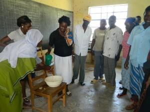 The Water Project : kenya4252-09-handwashing-exercise