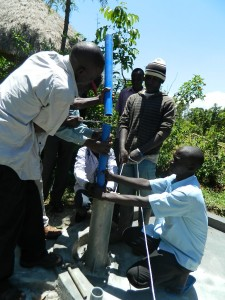 The Water Project : kenya4252-22-pump-installation