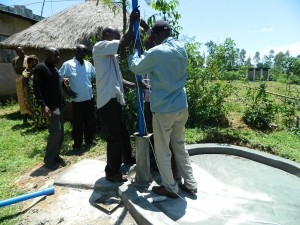 The Water Project : kenya4252-23-pump-installation