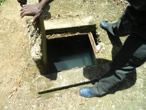 The Water Project : kenya4256-04-a-source-from-which-water-is-pumped-to-the-tank