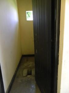 The Water Project : kenya4256-11-chebwayi-dispensary-latrines