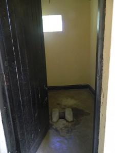 The Water Project : kenya4256-13-chebwayi-dispensary-latrines
