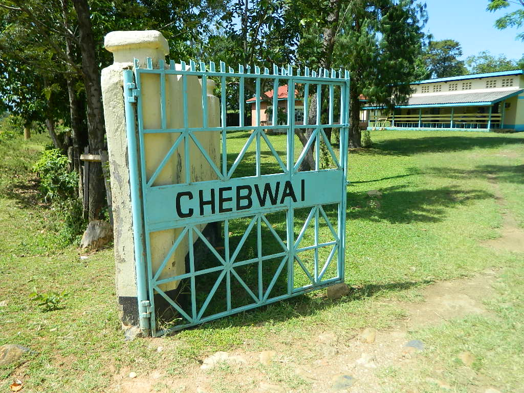 The Water Project : kenya4256-14-chebwayi-sign-post