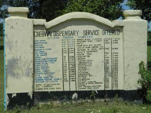 Kenya4256 17 Chebwayi sign post