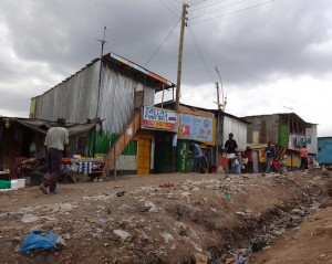 The Water Project : kenya-pamojamashimoni-01-street-shot-of-mashimoni-2