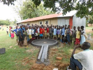 The Water Project : kenya4277-12-ihonje-primary-school-constructed-pad
