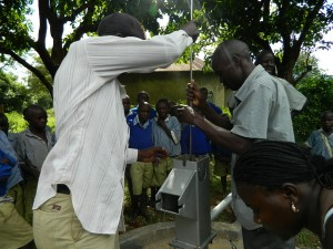 The Water Project : kenya4277-19-ihonje-primary-school-pump-installation