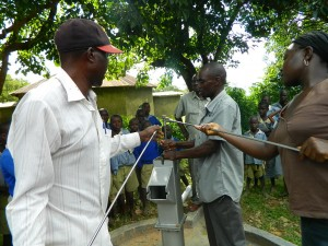 The Water Project : kenya4277-20-ihonje-primary-school-pump-installation