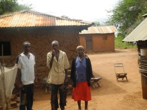 The Water Project : kenya4299-04-first-members-family
