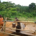 The Water Project: Kihaguzi Mbiise Village -