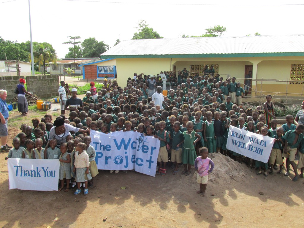 Photo of DEC Kamasondo School Well Rehabilitation