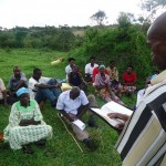 The Water Project: Kacwangobe Community -