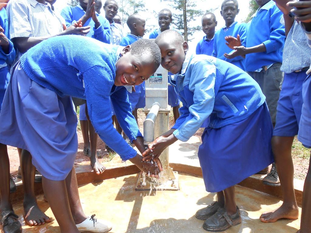 The Water Project : kenya4224-117-surungai-primary-school-handing-over-photo