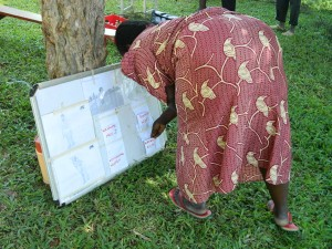 The Water Project : kenya4256-34-pocket-chart-voting