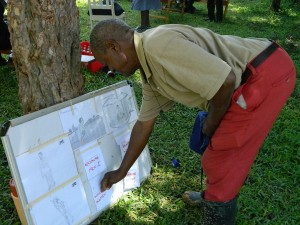 The Water Project : kenya4256-35-pocket-chart-voting
