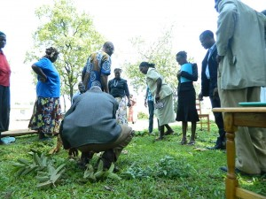 The Water Project : kenya4256-36-water-and-community-mapping-activity-at-chebwayi