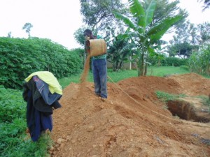 The Water Project : kenya4290-11-artisan-doing-his-work-at-bulanda-primary-school