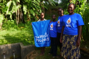The Water Project : kenya4291-02-wewasafo-staff-with-completed-sp