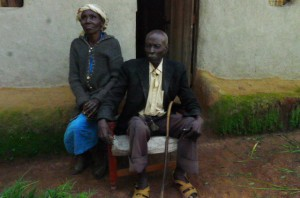 The Water Project : kenya4291-15-mary-kisanji-with-her-husband