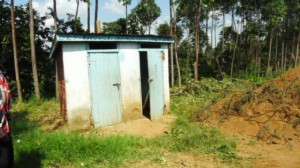 The Water Project : kenya4292-11-old-latrines