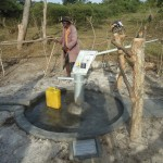 The Water Project: Kyenturegye Community -