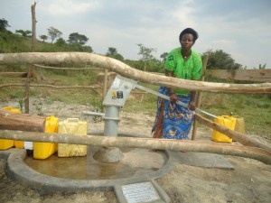 Kantarama P - Farmer, discussing her newly donated water project in Uganda