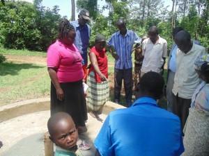 The Water Project : kenya4258-22-the-f-diagram-exercise-to-eshikulu-members