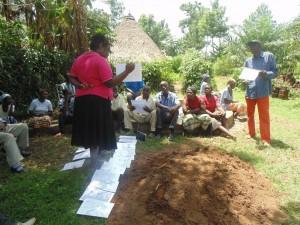 The Water Project : kenya4258-23-three-pile-sorting-exercise-at-eshikulu-community