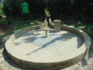 The Water Project : kenya4258-30-constructed-pad-at-eshikulu