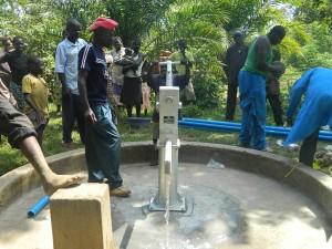 The Water Project : kenya4258-35-eshikulu-water-flowing
