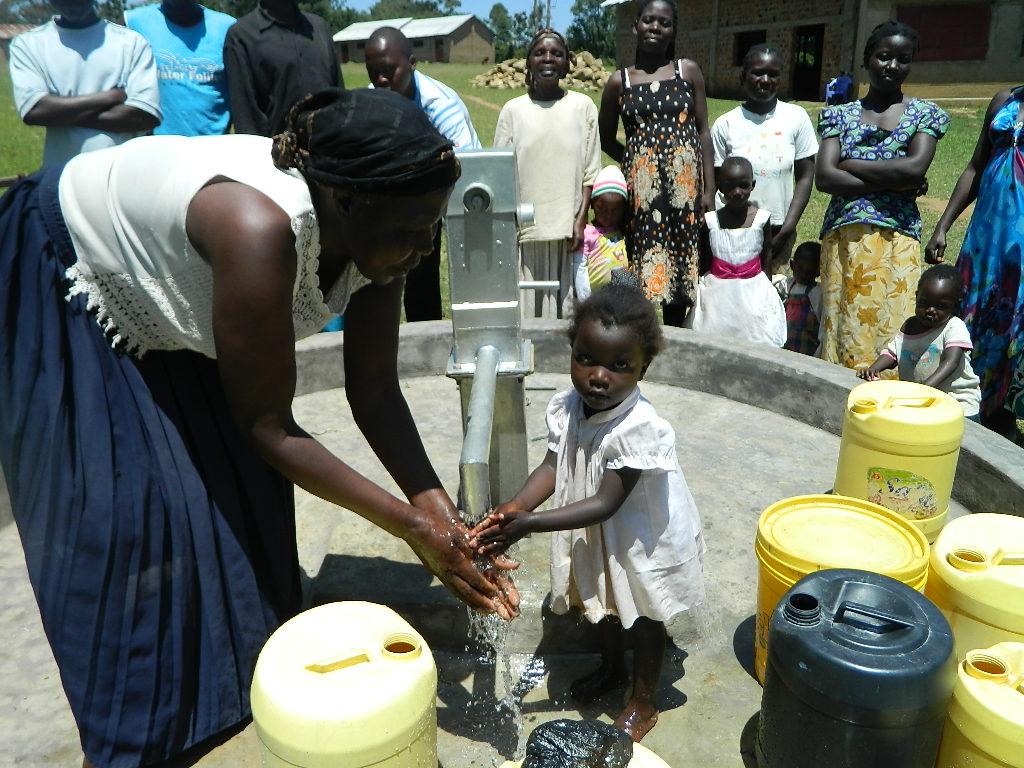 The Water Project : kenya4259-63-handing-over