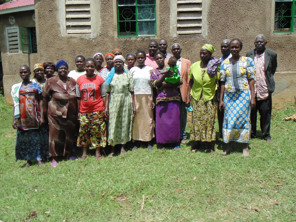 The Water Project : kenya4278-01-st-barnabas-elubari-ack-church-church-members