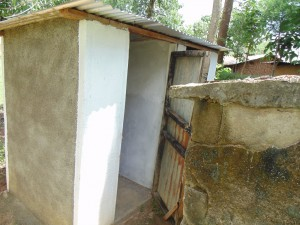 The Water Project : kenya4278-09-st-barnabas-elubari-ack-church-toilets