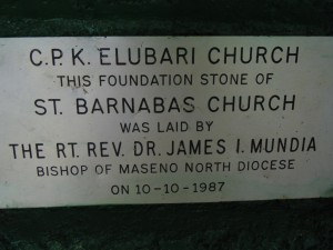The Water Project : kenya4278-11-st-barnabas-elubari-ack-church