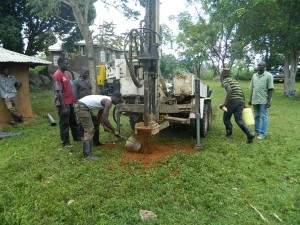 The Water Project : kenya4278-26-drilling-continues-at-elubari