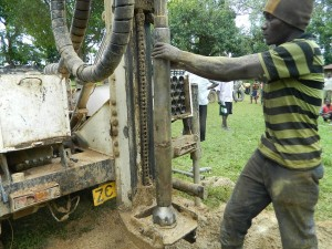 The Water Project : kenya4278-31-the-hammer-fixed-ready-to-drill