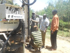 The Water Project : kenya4278-34-casing-of-elubari-well