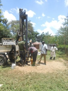 The Water Project : kenya4278-35-casing-of-elubari-well