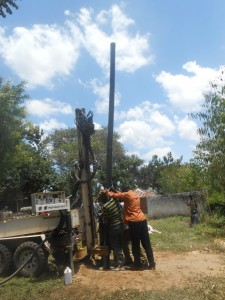 The Water Project : kenya4278-36-casing-of-elubari-well