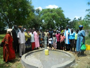 The Water Project : kenya4278-63-elubari-church-handing-over
