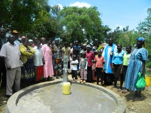 The Water Project : kenya4278-65-elubari-church-handing-over