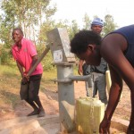 The Water Project: Kinama Village -