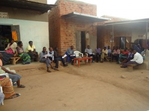 The Water Project : uganda6054-04-action-planning-meeting-in-kyitaagi