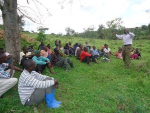 The Water Project : uganda6054-10-hp-comunity-sensitization