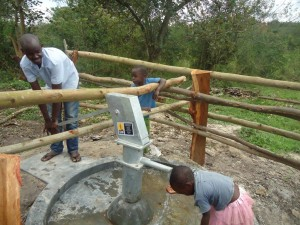 The Water Project : uganda6054-18-caretaker