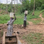 The Water Project: Bugondi Spring -