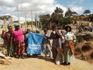The Water Project : kenya4299-13-construction-progress-in-kee